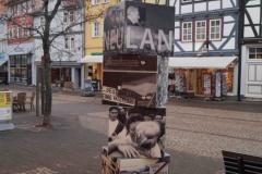 Eschwege / Auf dem Stad: Würfelsäule NEULAND
